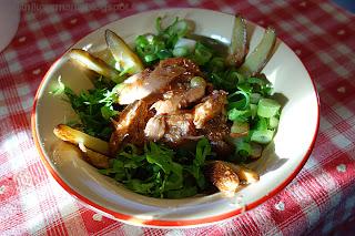 Салат картофельный с тунцом