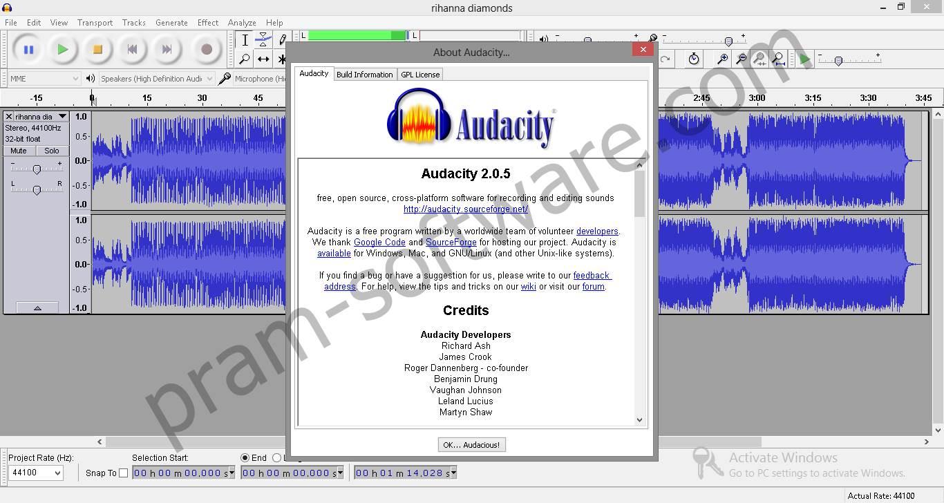 download audacity full version crack