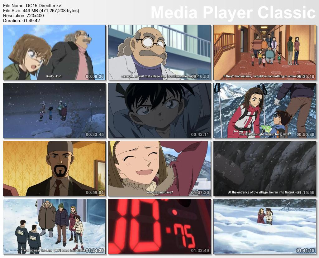 Detective Conan Movie 15 : Quarter Of Silence (2011) 500MB Mkv