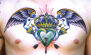 crown tattoos, tattooing