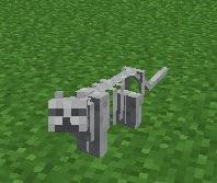 Gravestone Mod gato esqueleto