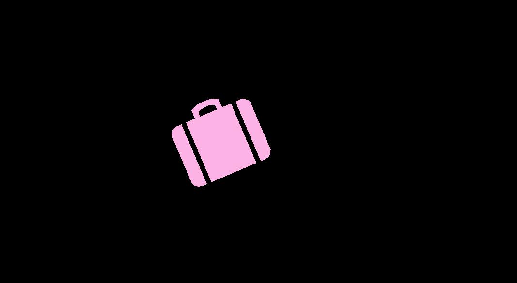 Aga's suitcase