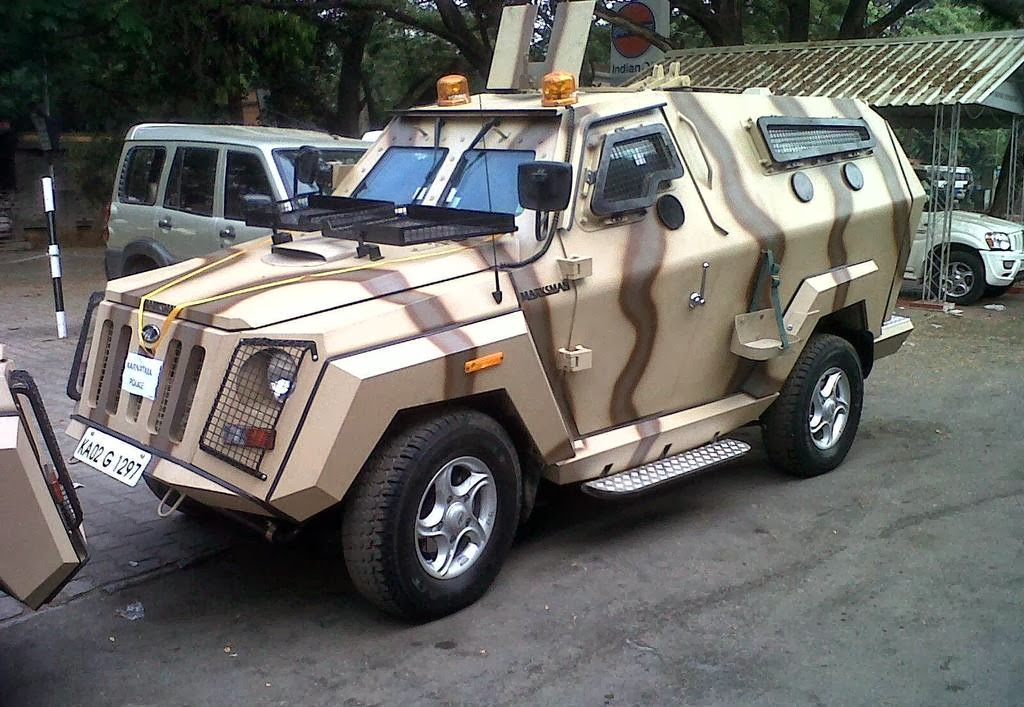 Mahindra Marksman For Indian Police Force Bharat