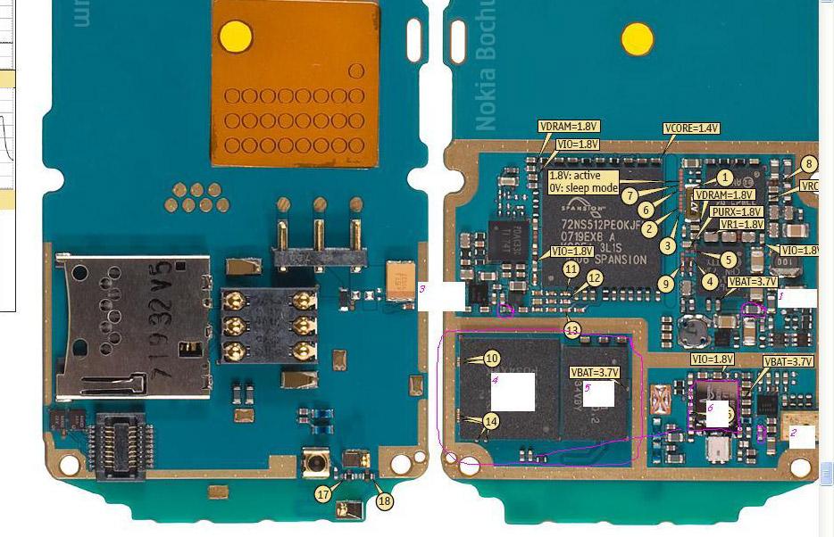 схема nokia 5310 - Только схемы.