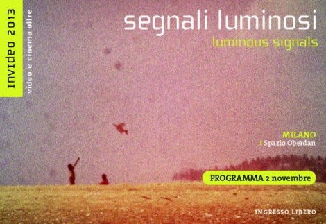 Cosa fare sabato 2 novembre a Milano: proiezioni, video e musica con INVIDEO 2013