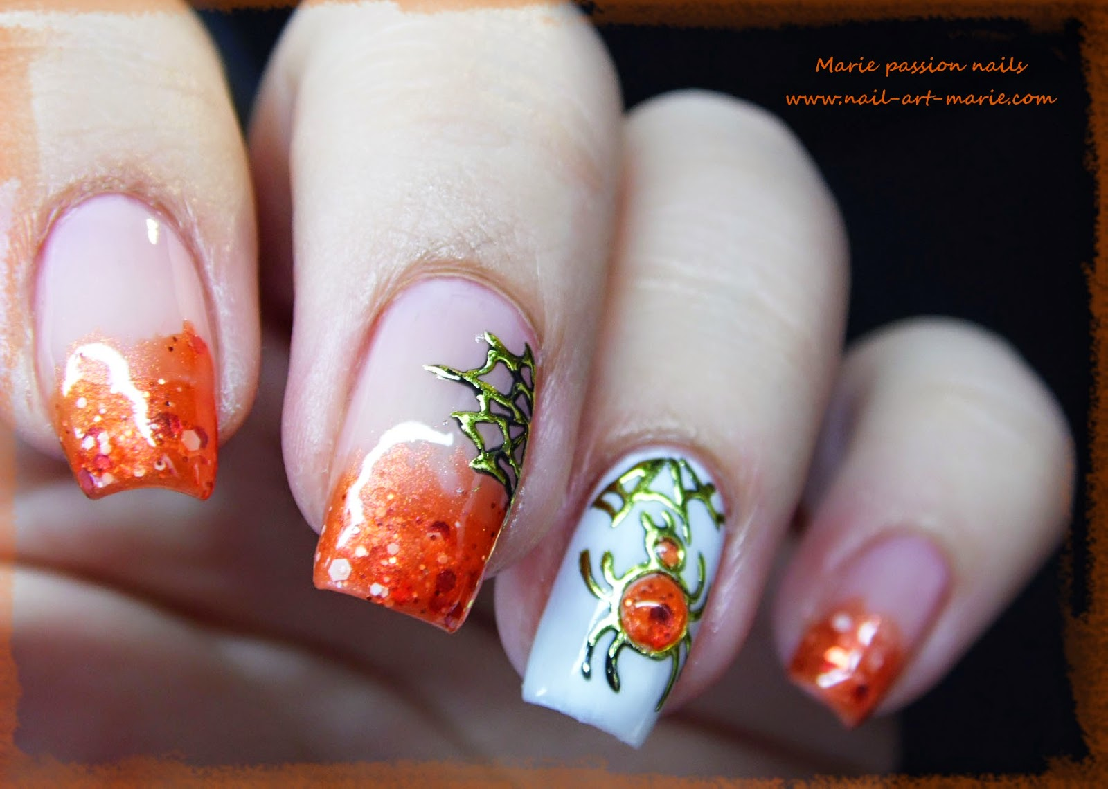Nail Art Halloween Chic9