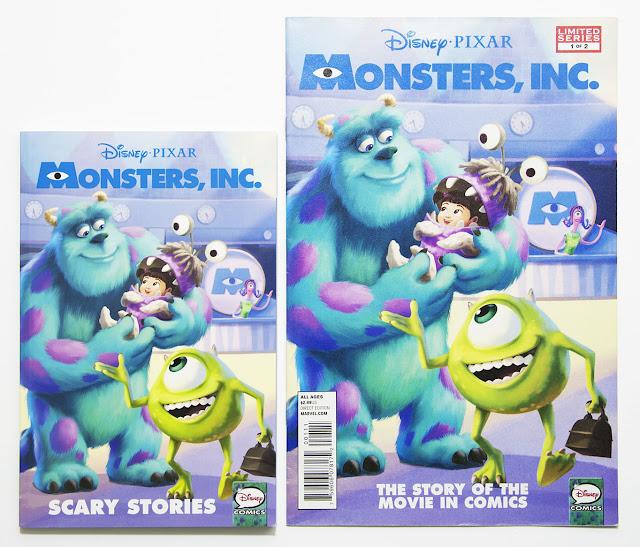 Disney/PIXAR Monsters Inc comic
