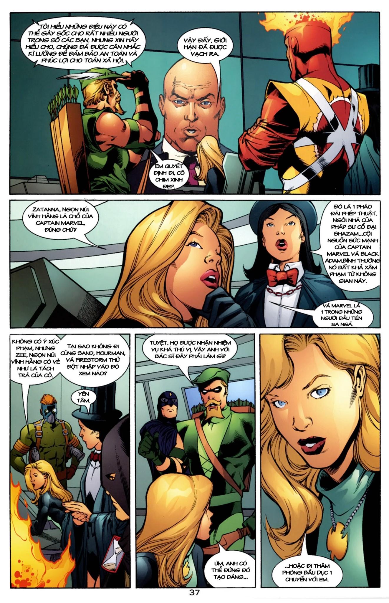 JLA JSA: VIRTUE AND VICE chap 2 - Trang 13