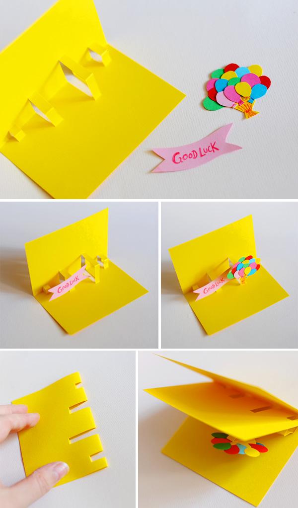 DIY: Tarjeta pop-up | Fuxia Atelier