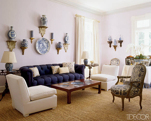 Hamptons Living Room  And  Sester