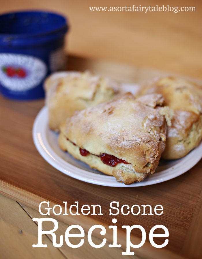 how to make scones without milk and butter