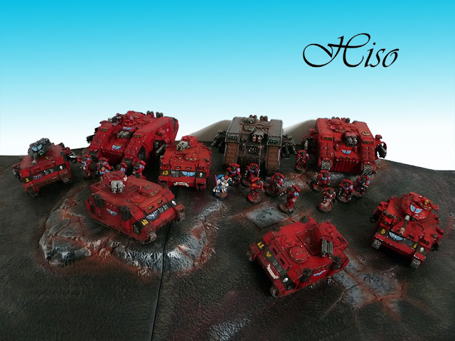 Blood Angels Armee a 1600 pts