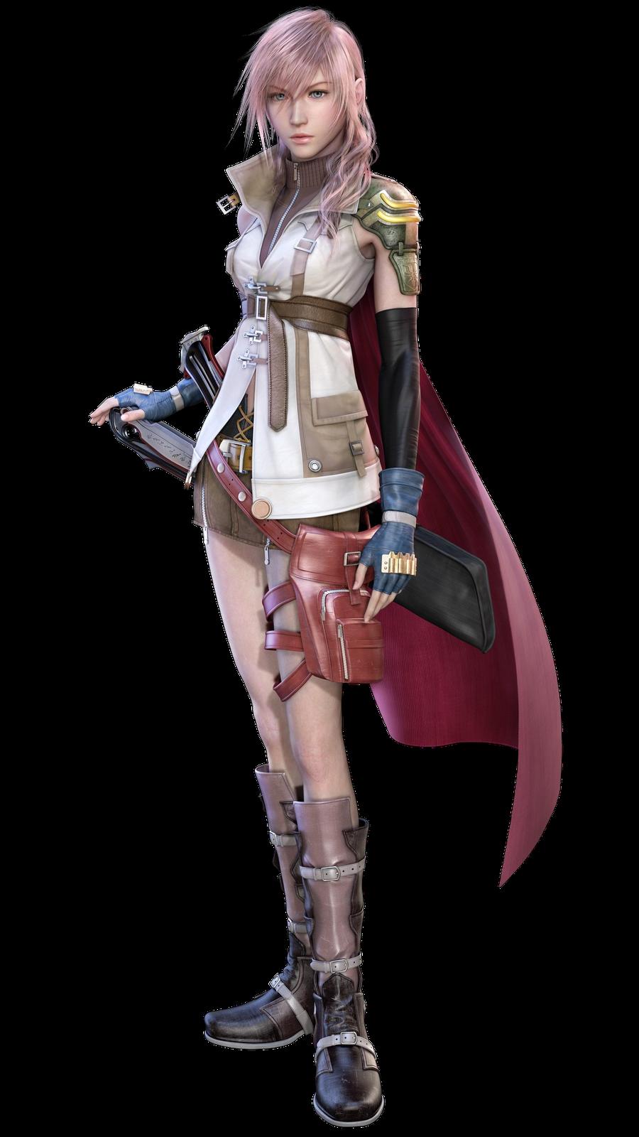 Final Fantasy Fundo invisivel Lightning1