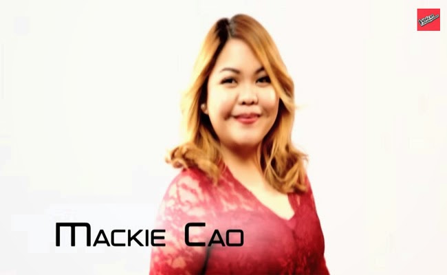 Team Apl: Mackie Cao Performance and Story The Voice of the Philippines Season 2 February 14 2015