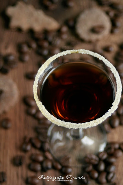 likier domowy, likier kawowy, likier kawowo-waniliowy, likier z wanilią, domowe alkohole