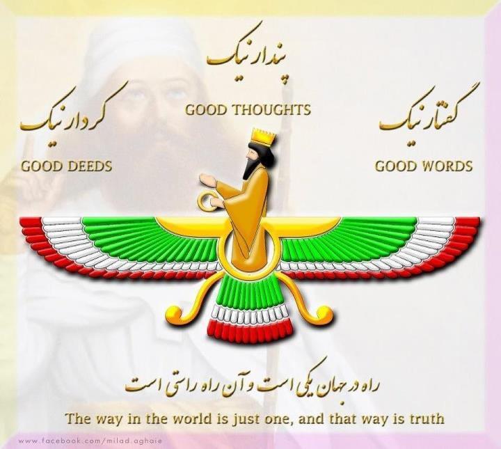 Faravahar Winged Symbol Of Iranian And