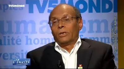Moncef MARZOUKI sur TV5