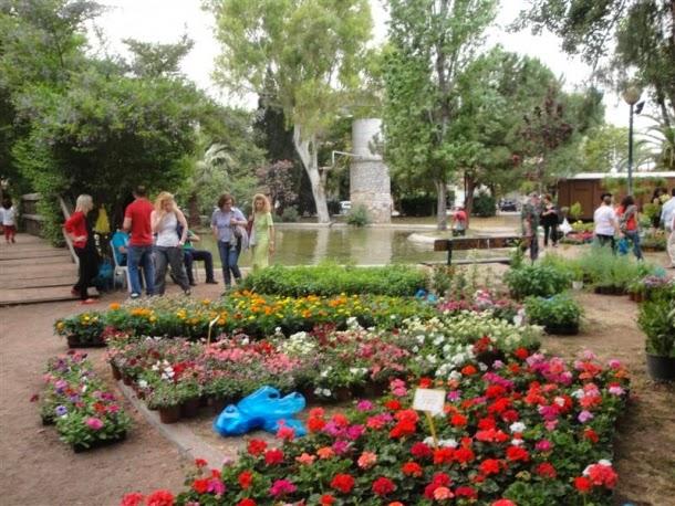 Πανέτοιμο το Πάρκο για την Ανθοκομική Έκθεση