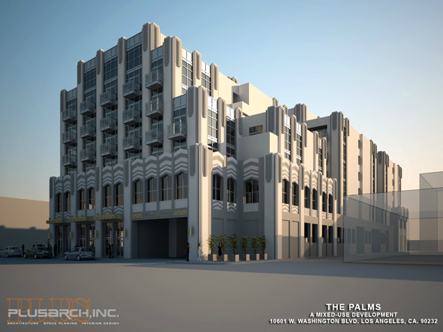 Modern And Futuristic Architecture Design The Palms An Art Deco
