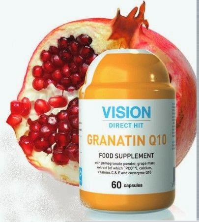 Coenzyme Q10 Vision Tim mạch khỏe mạnh