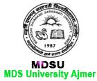 MDSU Ajmer Result