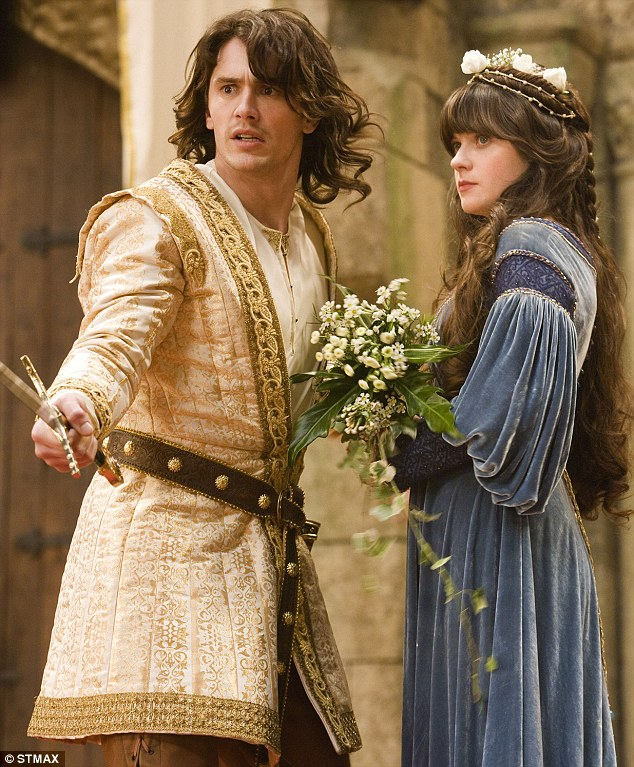 Your highness inspiration for medieval costumes handmade for Zooey deschanel wedding dress