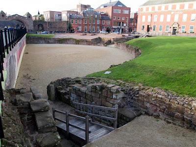 Anfiteatro romano de Chester