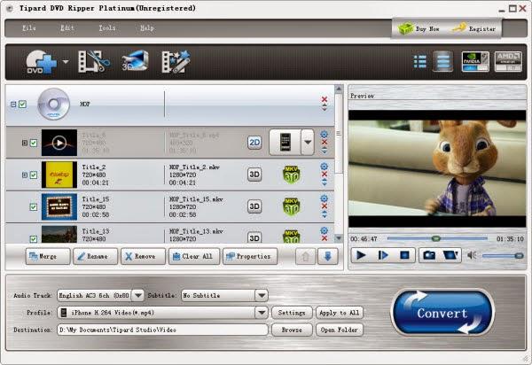 Tipard DVD Ripper Platinum