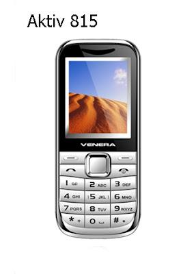 Ponsel Venera Aktiv 815
