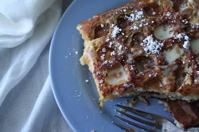 The Traveling Spoon: Eggnog Waffle French Toast