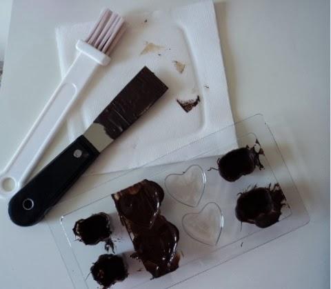 fare cioccolatini in casa