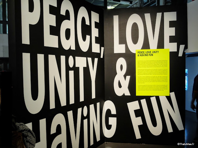 Peace, Love, Unity, Fun, Expo Hip-Hop Institut du Monde Arabe Akhenaton Paris