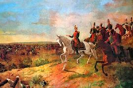 LA BATALLA DE JUNÍN (06/08/1824) INDEPENDENTISTAS Vs REALISTAS (Españoles)