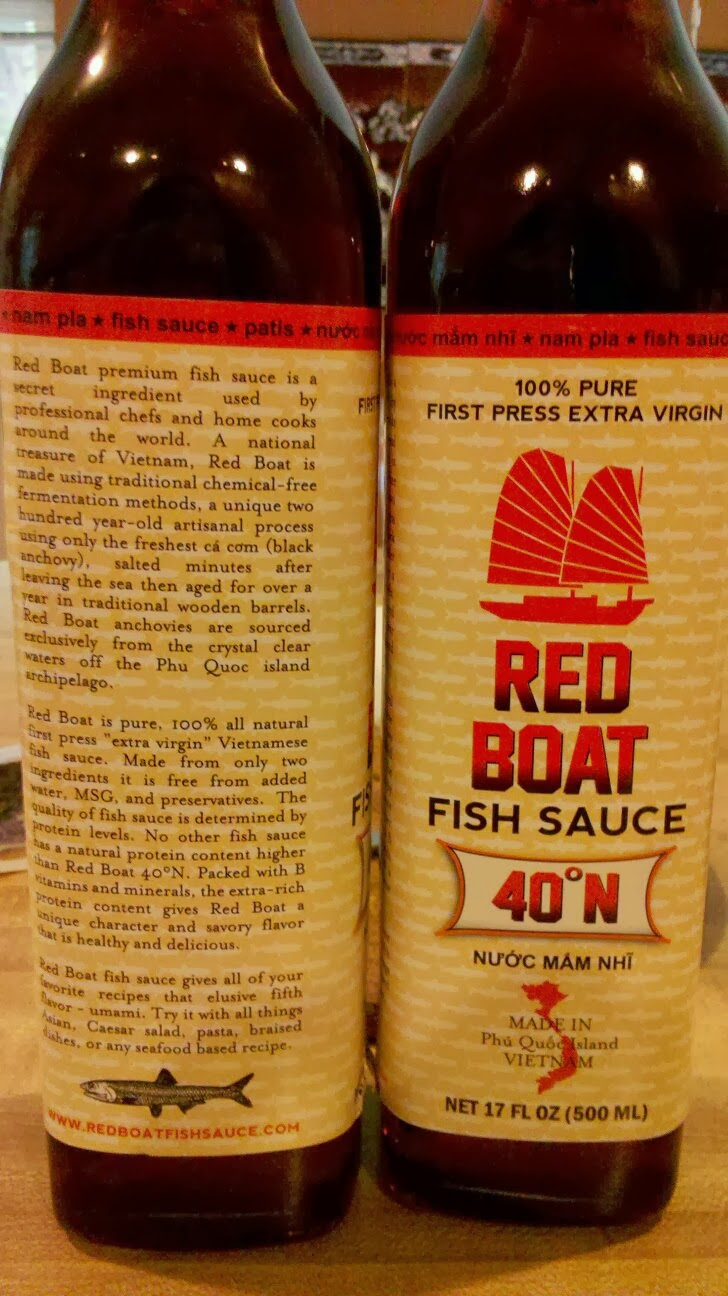 Real food real pho fish sauce taste test for Red boat fish sauce ingredients