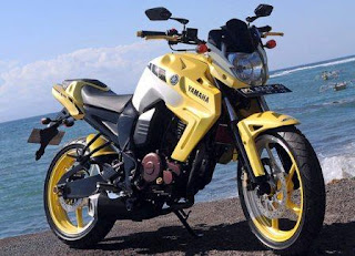 Modifikasi Yamaha Byson Super Motor