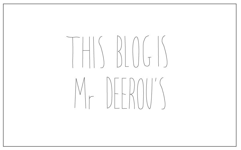 thisblogismrdeerous
