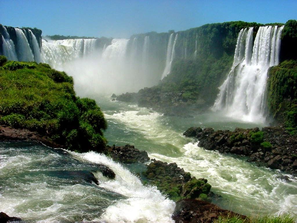 As maiores cachoeiras do mundo-Iguaçu