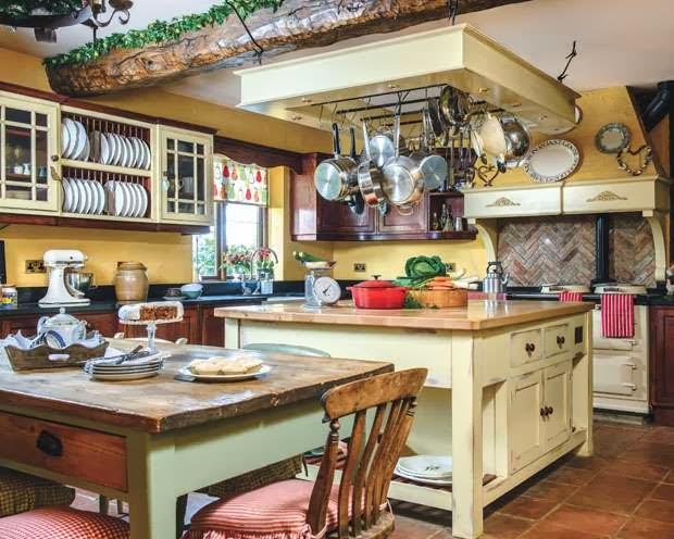 Lismary 39 s cottage una casa nello yorkshire molto natalizia for Foto di cucina inglese cottage