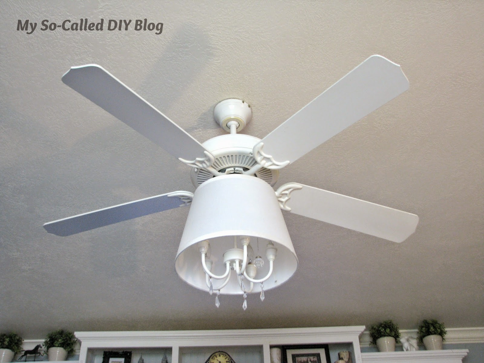 My So Called DIY Blog Refab a Ceiling Fan