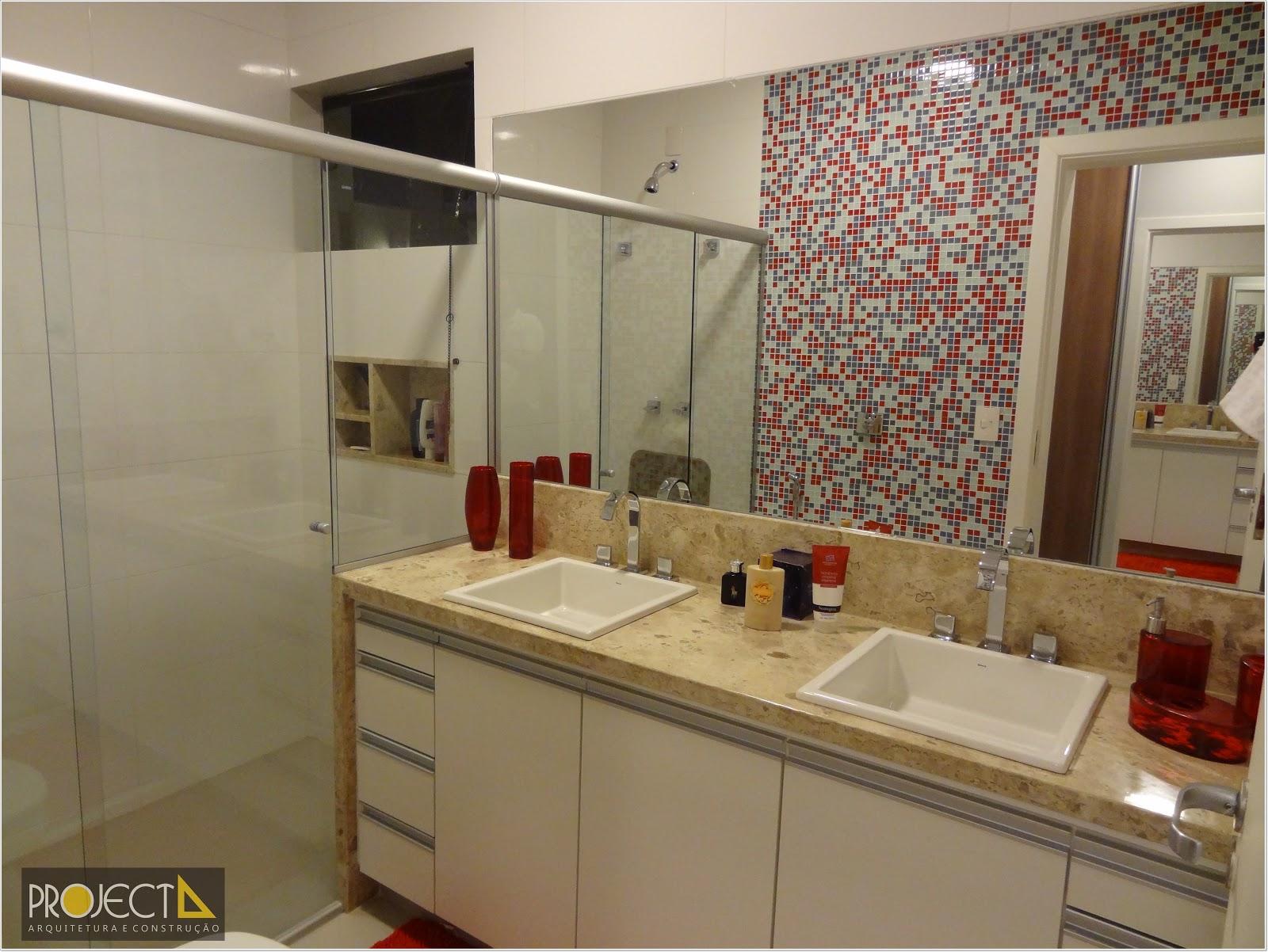 Projecta Arquitetura e Construção: Reforma Residêncial no City  #A77C24 1600x1202 Banheiro Arquitetura E Construção