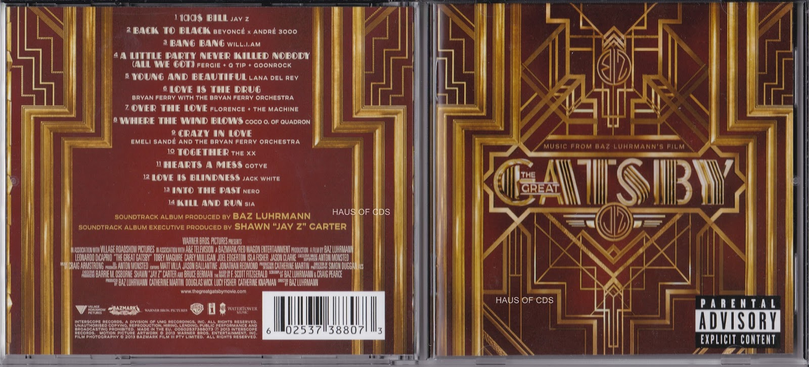 great gatsby soundtrack mp3 rar