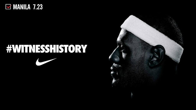Lebron James in Manila July 23, 2013 live