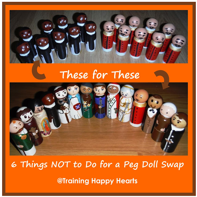 http://traininghappyhearts.blogspot.com/2015/11/saint-peg-doll-swap.html