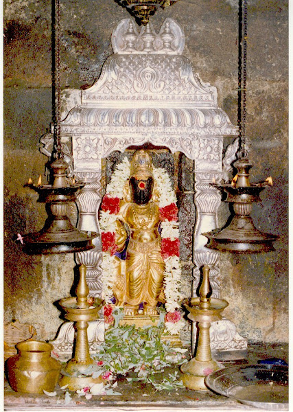 Lord Sani Bhagavan at Thirunallar