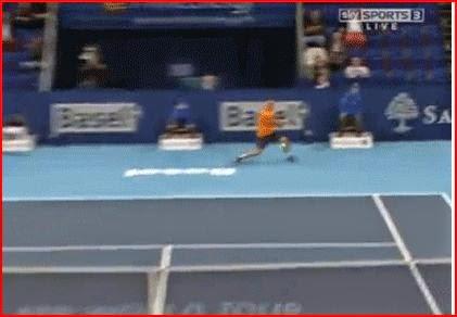 Grigor Dimitrov amazing tennis show randommusings.filminspector.com
