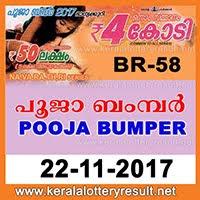 Kerala Next Bumper Lottery POOJA BUMPER 2017