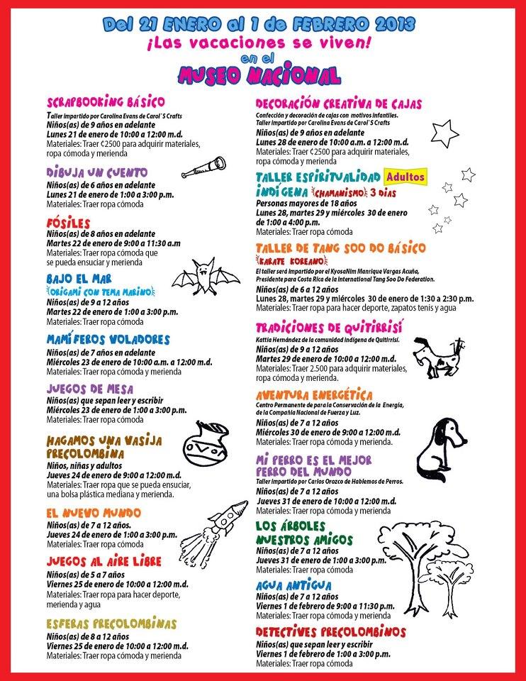 Living life in costa rica blog kids ninos las clases - Actividades para ninos pequenos ...
