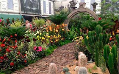 Jardín surrealista mexicano