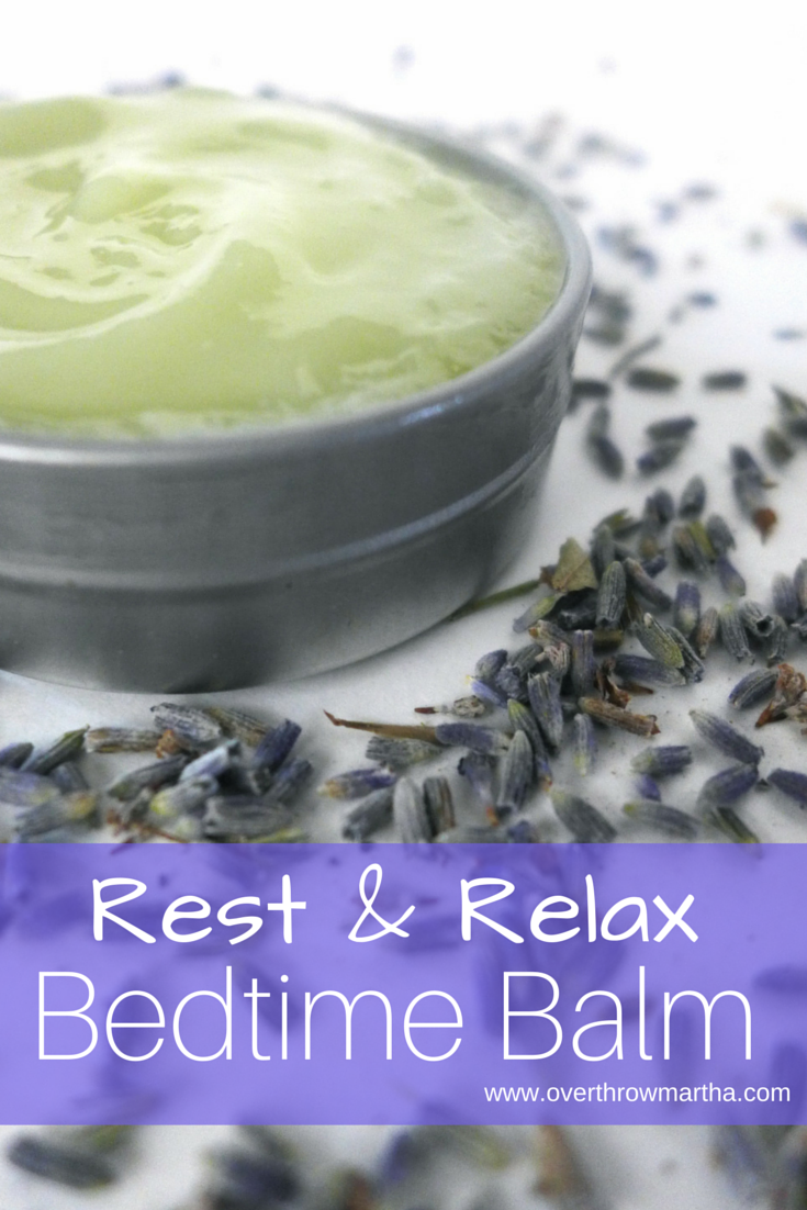 How to make your own #DIY Bedtime Balm for a better night's #sleep