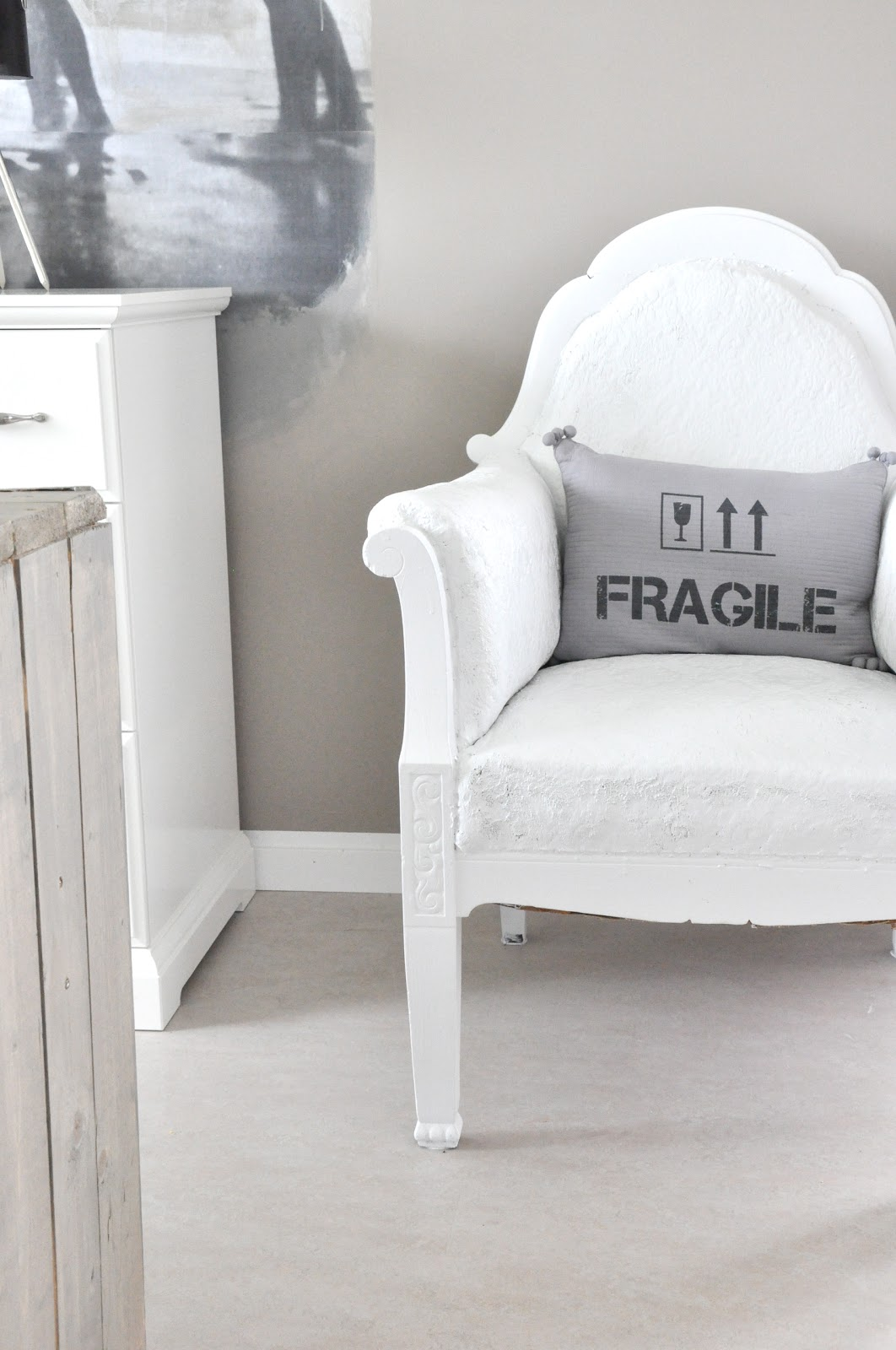 Male stoff stol
